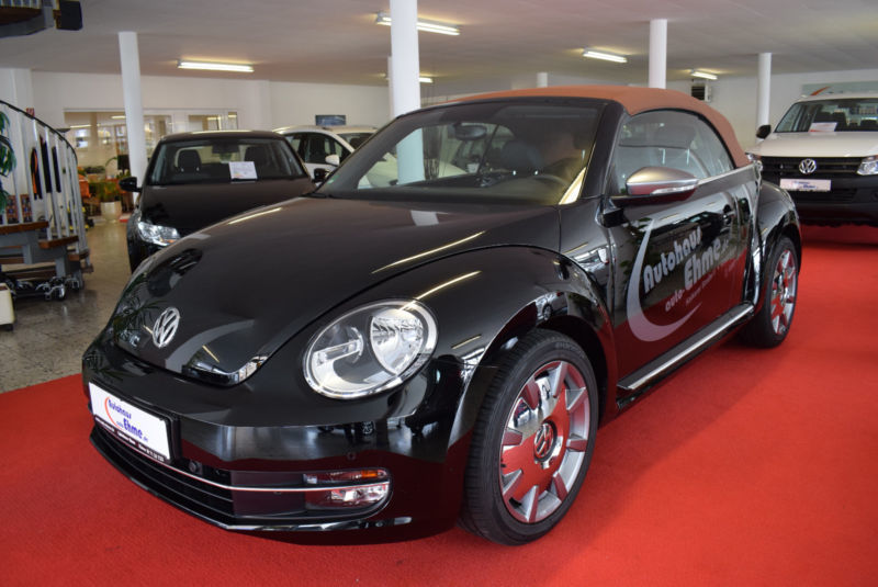 verkauft vw beetle cabriolet karmann b gebraucht 2016 2. Black Bedroom Furniture Sets. Home Design Ideas