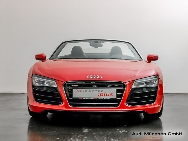 verkauft audi r8 spyder v10 5 2 fsi s gebraucht 2014 km in eching. Black Bedroom Furniture Sets. Home Design Ideas