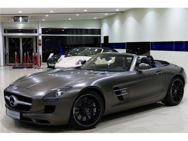 verkauft mercedes sls amg roadster amg gebraucht 2012 km in dormagendormagen. Black Bedroom Furniture Sets. Home Design Ideas