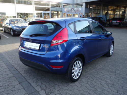 gebraucht 1 6 tdci umweltplakette 4 gr n ford fiesta 2009 km in forstern. Black Bedroom Furniture Sets. Home Design Ideas