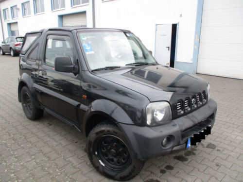 verkauft suzuki jimny cabrio 1 3 benzin gebraucht 2002. Black Bedroom Furniture Sets. Home Design Ideas