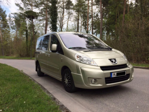 verkauft peugeot expert tepee l2h1 9 s gebraucht 2007 km in rendsburg. Black Bedroom Furniture Sets. Home Design Ideas