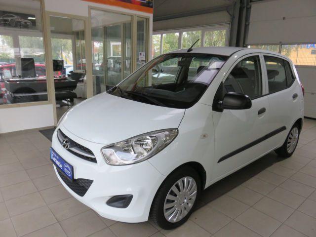 verkauft hyundai i10 5 star edition fi., gebraucht 2013, 68.800 km
