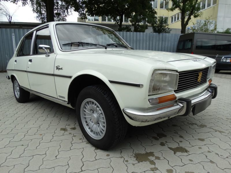 verkauft peugeot 504 gebraucht 1975 km in hamburg. Black Bedroom Furniture Sets. Home Design Ideas