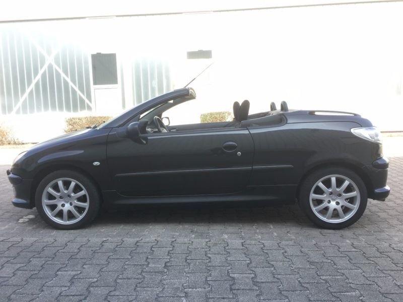 gebraucht hdi cabriolet jbl klimatronik peugeot 206 cc 2006 km in hannover. Black Bedroom Furniture Sets. Home Design Ideas