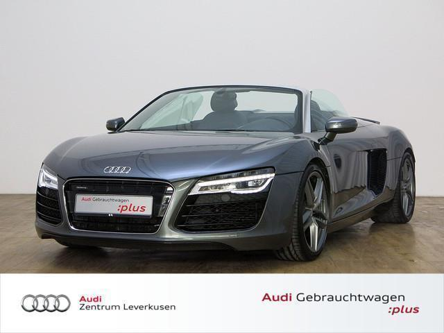 gebraucht 4 2 quattro facelift 9800km neuwertig audi r8 spyder 2014 km in m nchen. Black Bedroom Furniture Sets. Home Design Ideas