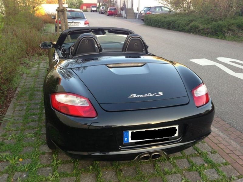 verkauft porsche boxster s gebraucht 2006 km in klein winternheim. Black Bedroom Furniture Sets. Home Design Ideas