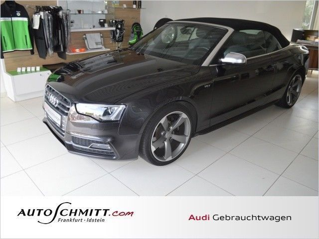 verkauft audi s5 cabriolet 3 0 tfsi qu gebraucht 2013 km in frankfurt am main. Black Bedroom Furniture Sets. Home Design Ideas