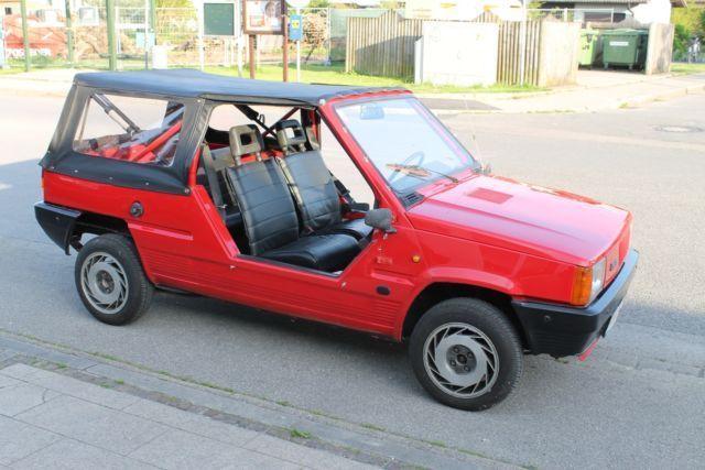 verkauft fiat panda cabrio plein air t gebraucht 1984. Black Bedroom Furniture Sets. Home Design Ideas