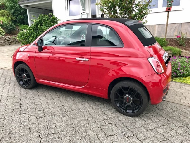 verkauft fiat 500c 500c lounge 1 2auto gebraucht 2014 km in gau algesheim. Black Bedroom Furniture Sets. Home Design Ideas