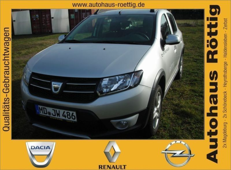verkauft dacia sandero stepway ambianc gebraucht 2014 km in herrenberg. Black Bedroom Furniture Sets. Home Design Ideas