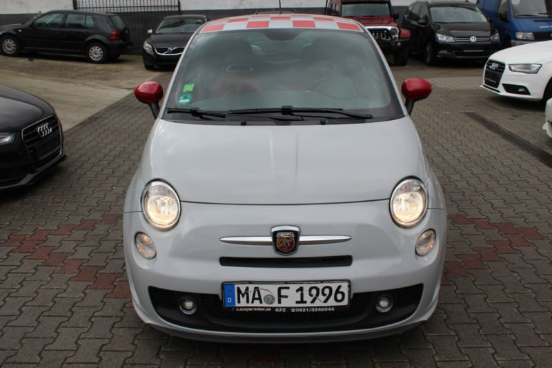 verkauft fiat 500 1 4 16v abarth essee gebraucht 2009. Black Bedroom Furniture Sets. Home Design Ideas