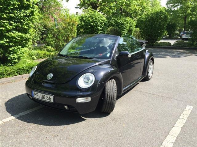 verkauft vw beetle newcabriolet 2 0 gebraucht 2004 47. Black Bedroom Furniture Sets. Home Design Ideas