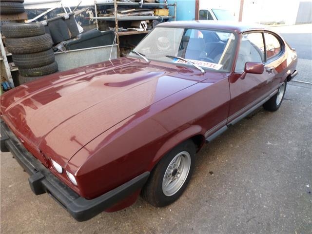 capri gebrauchte ford capri kaufen 32 g nstige autos zum verkauf. Black Bedroom Furniture Sets. Home Design Ideas