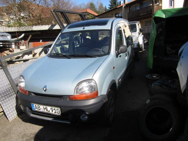 verkauft renault kangoo 4x4 1 6 16v pr gebraucht 2002 km in mespelbrunn. Black Bedroom Furniture Sets. Home Design Ideas