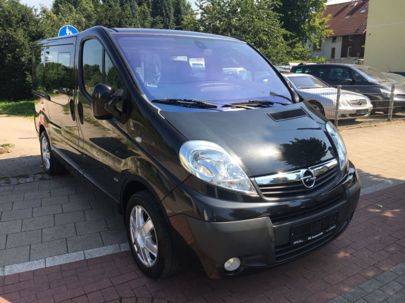 gebraucht 2 5 cdti opel vivaro 2007 km in gelsenkirchen. Black Bedroom Furniture Sets. Home Design Ideas