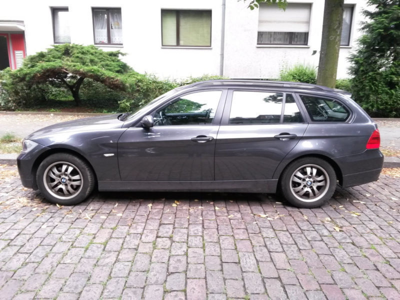 verkauft bmw 320 3er touring gebraucht 2006 km in berlin. Black Bedroom Furniture Sets. Home Design Ideas
