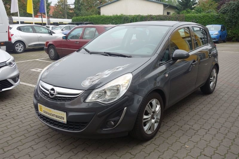 verkauft opel corsa 1 2 16v ecoflex gebraucht 2011 km in bischofswerda. Black Bedroom Furniture Sets. Home Design Ideas