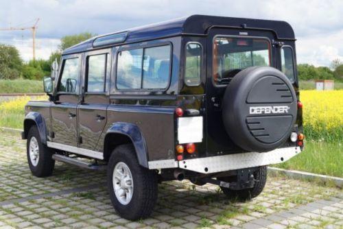 verkauft land rover defender 110 stati gebraucht 2006 km in oberstimm. Black Bedroom Furniture Sets. Home Design Ideas