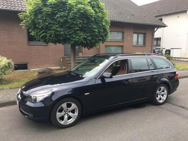 verkauft bmw 525 5er touring aut gebraucht 2007 km in troisdorf. Black Bedroom Furniture Sets. Home Design Ideas