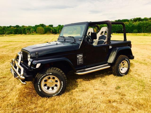 gebraucht 4 0 sport jeep wrangler 1997 km in mettlach. Black Bedroom Furniture Sets. Home Design Ideas