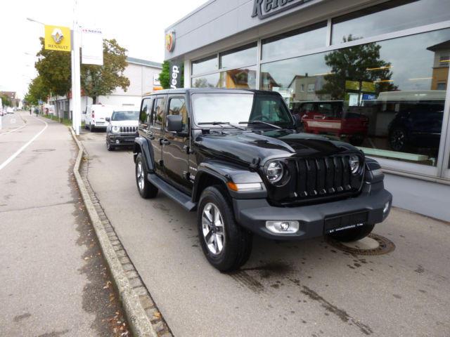 ▷ jeep wrangler unlimited 2.1 diesel 200 ps (2018) | augsburg