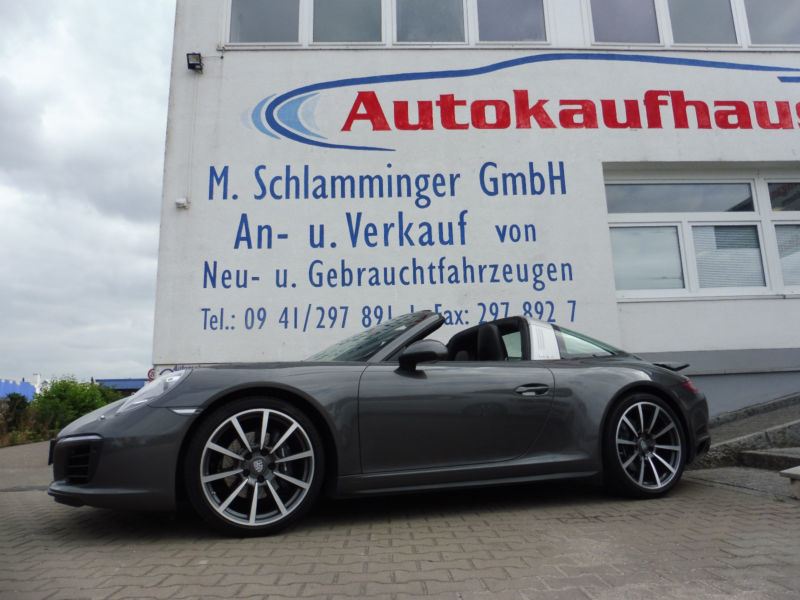 Verkauft Porsche 911 Targa 4 Urmodell Gebraucht 2017 23 561 Km In