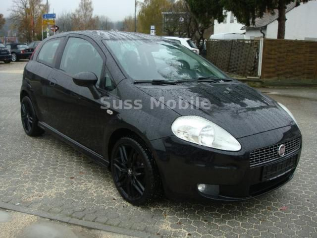 verkauft fiat grande punto 1 4 t jet 1 gebraucht 2009 km in regensburg. Black Bedroom Furniture Sets. Home Design Ideas