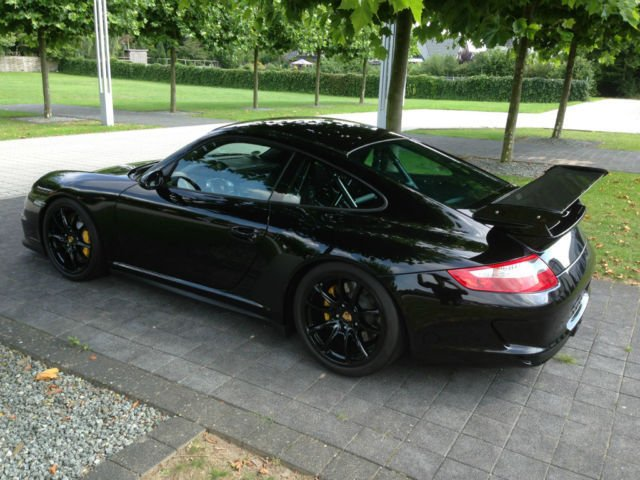 verkauft porsche 911 gt3 rs 911schwarz gebraucht 2008. Black Bedroom Furniture Sets. Home Design Ideas