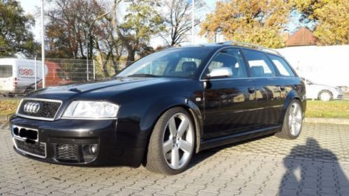 verkauft audi rs6 avant quattro abt bl gebraucht 2003 km in lampertheim. Black Bedroom Furniture Sets. Home Design Ideas