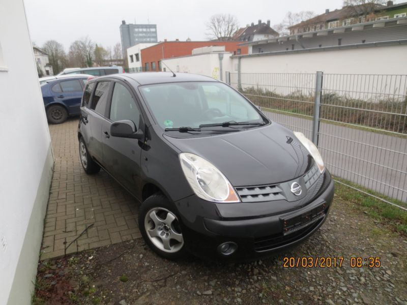 verkauft nissan note 1 6 acenta gebraucht 2007 km. Black Bedroom Furniture Sets. Home Design Ideas