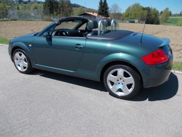 verkauft audi tt roadster 1 8 t quattr gebraucht 2001 km in aschaffenburg. Black Bedroom Furniture Sets. Home Design Ideas