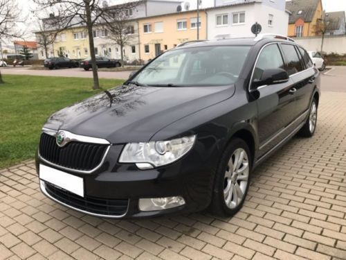 verkauft skoda superb combi 2 0 tdi ds gebraucht 2011 km in weststadt. Black Bedroom Furniture Sets. Home Design Ideas