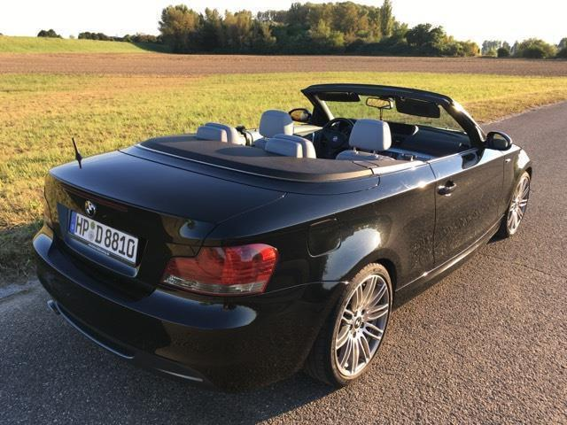 verkauft bmw 120 cabriolet d aut gebraucht 2009 km in konstanz. Black Bedroom Furniture Sets. Home Design Ideas