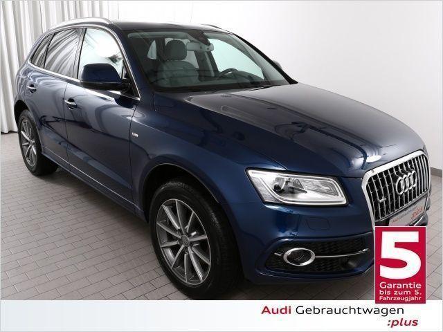 gebraucht Audi Q5 3.0TDi 2xS line/Pano/Assistenz/B+O/VOLL (Navi Xeno