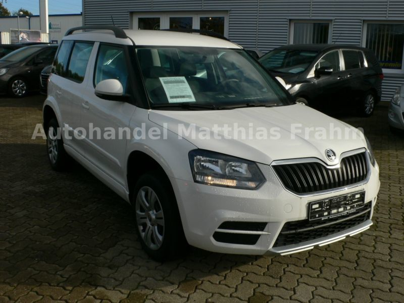 verkauft skoda yeti 1 2 tsi active pdc gebraucht 2014 km in kropp. Black Bedroom Furniture Sets. Home Design Ideas