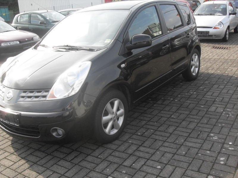 verkauft nissan note 1 4 gebraucht 2007 km in enger. Black Bedroom Furniture Sets. Home Design Ideas