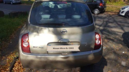 verkauft nissan micra k12 bj 2003, gebraucht 2003, 162.000 km in