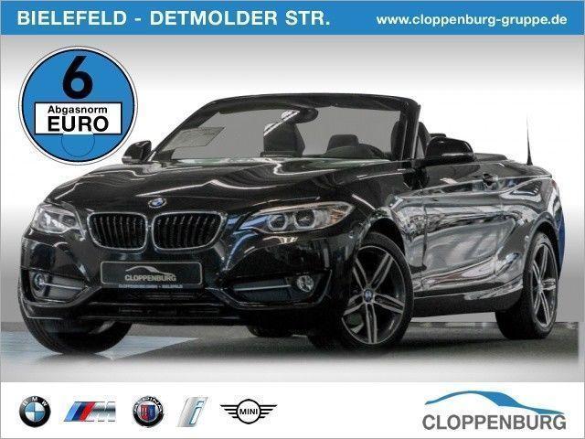 verkauft bmw 218 i sport line cabrio n gebraucht 2016 km in bielefeld. Black Bedroom Furniture Sets. Home Design Ideas