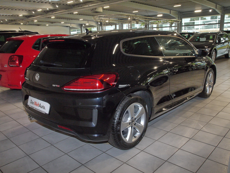 verkauft vw scirocco facelift 2 0 l tdi gebraucht 2015 km in dingolfing. Black Bedroom Furniture Sets. Home Design Ideas