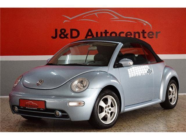 verkauft vw beetle newcabriolet 2 0 hi gebraucht 2004 km in wuppertal. Black Bedroom Furniture Sets. Home Design Ideas
