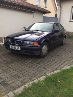 verkauft bmw 316 i gebraucht 1996 km in m nster centrum. Black Bedroom Furniture Sets. Home Design Ideas
