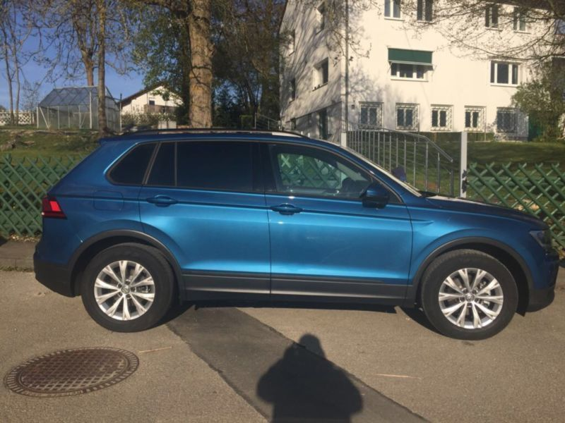 verkauft vw tiguan 1 4 tsi bluemotion gebraucht 2017 km in lonsee. Black Bedroom Furniture Sets. Home Design Ideas
