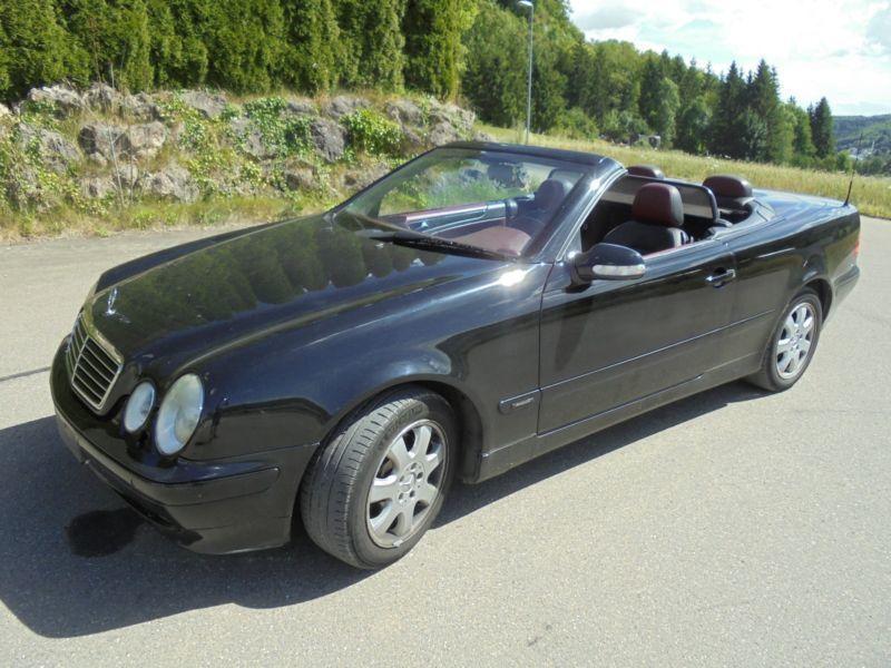 verkauft mercedes clk230 cabrio kompre gebraucht 2000 km in strassberg. Black Bedroom Furniture Sets. Home Design Ideas
