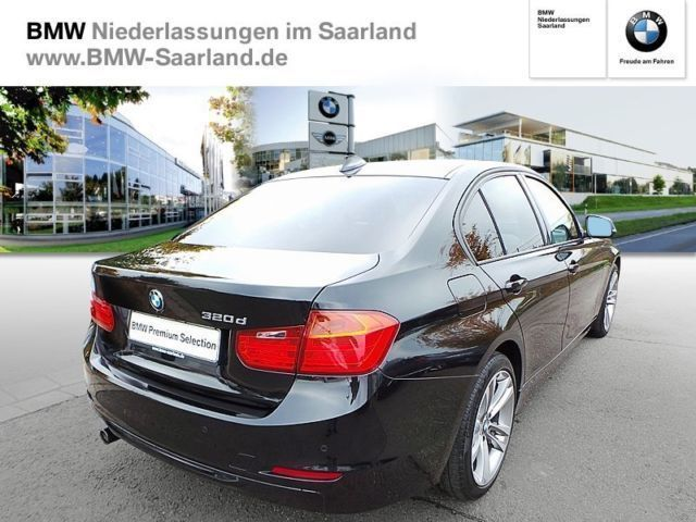 verkauft bmw 320 d limousine sport line gebraucht 2012 km in saarlouis. Black Bedroom Furniture Sets. Home Design Ideas