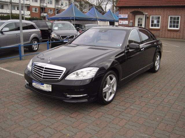 verkauft mercedes s500 s klasse amg tv gebraucht 2010 km in niedersachsen. Black Bedroom Furniture Sets. Home Design Ideas