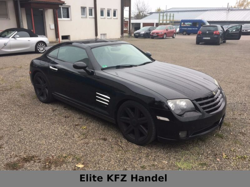 verkauft chrysler crossfire automatik gebraucht 2007 km in nagold. Black Bedroom Furniture Sets. Home Design Ideas