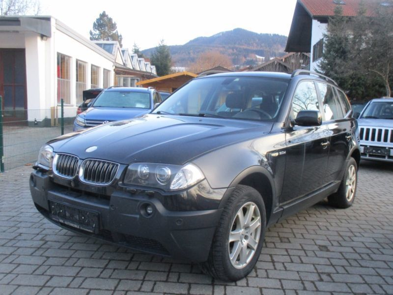 verkauft bmw x3 gebraucht 2006 km in kolbermoor. Black Bedroom Furniture Sets. Home Design Ideas