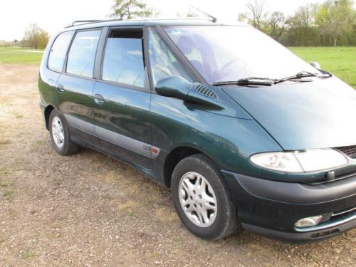 verkauft renault espace 2 0 expression gebraucht 2001 km in hanau. Black Bedroom Furniture Sets. Home Design Ideas
