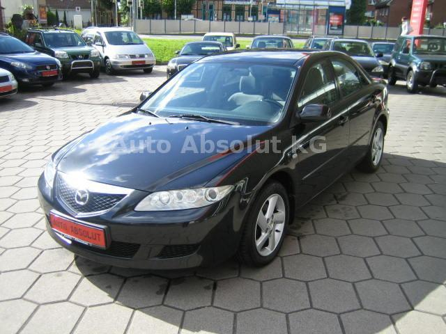 verkauft mazda 6 2 0 exclusive gebraucht 2002 km. Black Bedroom Furniture Sets. Home Design Ideas